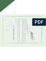 Note de Moussa Imuhamad  Koussa, chef de la sécurité extérieure libyenne 10.12.2006 au président du fonds libyen d'investissements africains