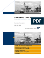 SAP GTS Overview