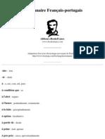 DICIONARIO - Francês - Português - Corporativo