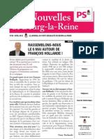 Les nouvelles de Bourg-la-Reine, 26 avril 2012