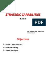 Lec (3)- Strategic Capabilities (CSM)