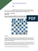 Kasparov x shirov