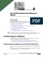 CUCM 8 in Vmware