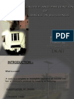causes and prevention of cracks in building