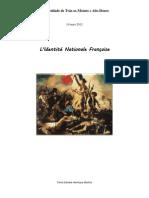 Lidentité Nationale Française