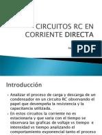 Circuitos Rc en Corriente Directa