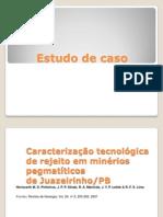 06 - CMTM - ESTUDO DE CASO 1 - Caracteriza+º+úo de Pegmatitos