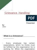 Grivance Handling