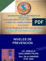 Niveles de Prevencion Salud Com Unit Aria
