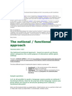 Functional Notional Syllabus