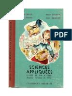 Certificat d'Etudes 1 Sciences Appliquées Ecoles rurales de filles