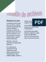 Windows gestión de archivos