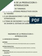 Ingenieria de La Produccion II