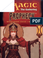 Magic the Gathering - Masquerade Cycle 3 - Prophecy - {Moore, Vance}