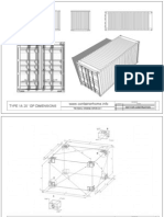 Shipping Container Homes Technical Drawings 20GP