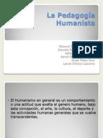 La Pedagogía Humanista