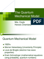 7HC the Quantum Mechanical Model