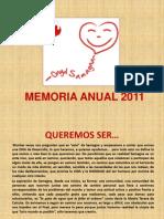 MEMORIA ANUAL 2011