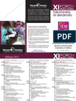 Programa Xi Foro Mu Horizontal-Defi