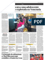 28.04.2012 EL COMERCIO Juzgado da ultimátum a Chorrillos para que estabilice malecón Grau - Lima tendrá protocolo de acción para sismos