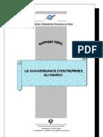 Etude Gouvernance Au Maroc