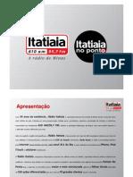 Itatiaia 2011 apresentação