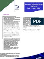 S3C6410 Product Tech Brief (PTB) v1.1_070624