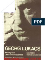 History and Class Consciousness Studies in Marxist Dialectics by Georg Lukacs