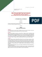 1950_DPR-5-Aprile Pprovazione Del to Per La Esecuzione Del Decreto Legislativo 13 Settembre 1946, n. 233, Sulla Ricostituzione Degli Ordini Delle Professioni Sanitarie e Per La Dis