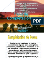 TIPOS DE COMPLETACIÓN DE POZOS