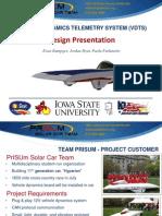 PRISUMDATA SP12 Group Report Report Presentation