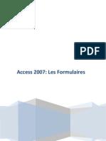 Access 2007 Les Formulaires