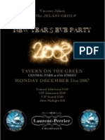 Vincent Jelani New Years Charity Ball at Tavern On The Green Central Park