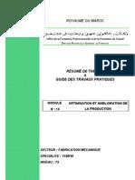 M11_Optimisation et amélioration de la production