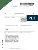 patente de cultivo