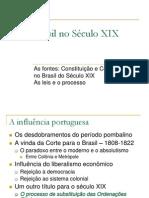 8 - Brasil no Século XIX - as leis e o processo