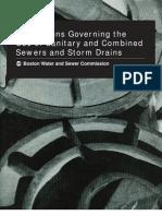 Sewer Regulations