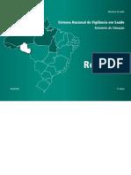 Sistema Nacional de Vigilância em Saúde - Relatório de Situação