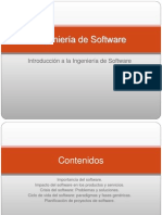 Introduccion a La Ingenieria de Software 0