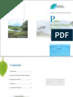 Politica de Areas Naturales Protegidas El Salvador