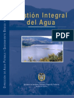 Gestion Integral Del Agua en Colombia