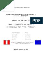Perfil de Proyecto Carretera Final 3ra Revision