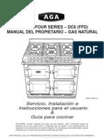 Aga Six Four Nat Gas Manual Es11-09 Eins 513232