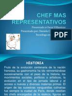 Cocineros y Chef Mas Representativos(Presentacion Power Point)