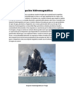 Erupción hidromagmática