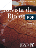 Revista Da Biologia, Volume 5, Dezembro de 2010