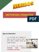 MOTIVACION Y PEDAGOGIA