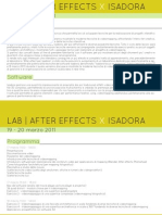 After Effects for Isadora