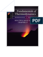 Fundamentals of Thermodynamics solutions ch17