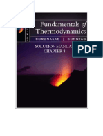 Fundamentals of Thermodynamics solutions ch08